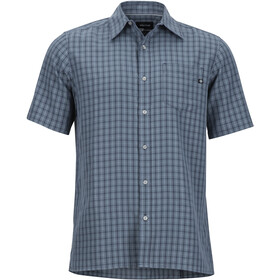 Marmot Eldridge t-shirt Heren, steel onyx
